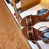 Босоножки Луи Витон Passenger натуральная кожа , фото 2