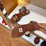 Босоножки Луи Витон Passenger натуральная кожа , фото 4