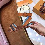 Босоножки Луи Витон Passenger натуральная кожа , фото 5