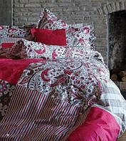 Karaca Home постельное ранфорс Vera розовый пано полуторное