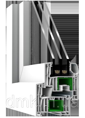 Металлопластиковое окно Steko Reiner R700. Европейский профиль
