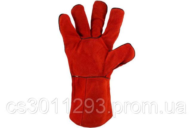 """Перчатки PRC - замшевые краги 32см x 14"""", фото 2"""