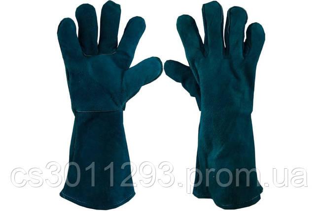 """Перчатки PRC - замшевые краги 36см x 14"""", фото 2"""