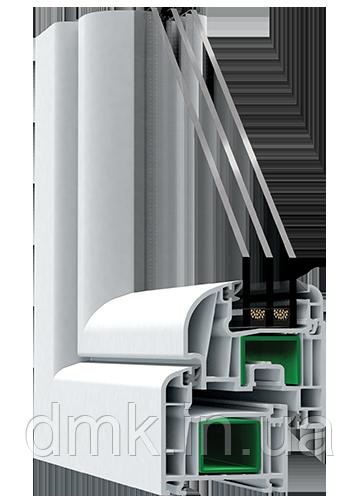 Металлопластиковое окно Steko R600. Европейский профиль