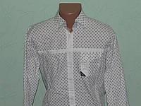 Рубашка мужская, стрейчевая
