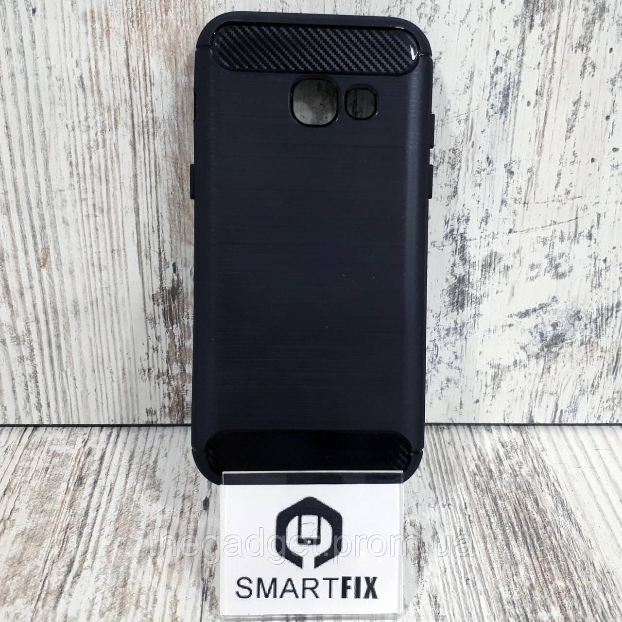 Противоударный чехол для Samsung A3 2017 (А320) Ultimate Черный