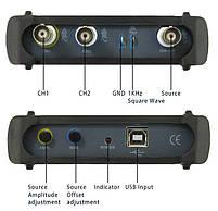 ISDS210B USB-осциллограф 2 х 40МГц,  с генератором сигналов, фото 4