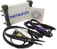 ISDS210B USB-осциллограф 2 х 40МГц,  с генератором сигналов, фото 3