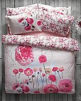 Karaca Home постельное ранфорс June розовый пано полуторное