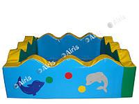 Сухой бассейн Волна Airis (150х150х50/15), фото 1