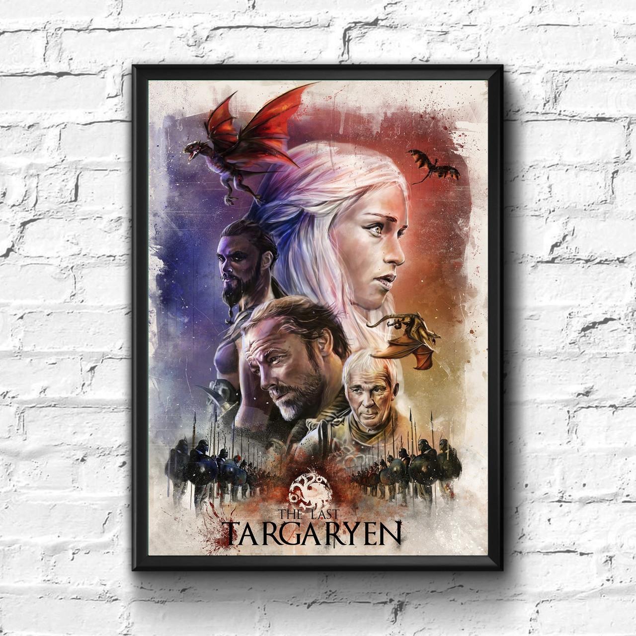 Постер с рамкой Game of Thrones #7