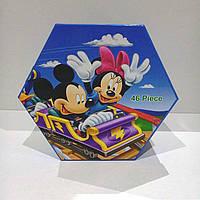 """Набор для детского творчества """"Mikky Mouse"""" (46 предметов) шестигранный MM-46"""
