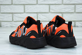 Мужские кроссовки Adidas Yeezy Boost 700 VX Black/Orange, фото 2