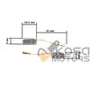 Щетки для электроинструмента 5*8*19.2 Bocsh 06-127