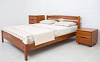 Односпальная кровать из бука Лика Люкс ТМ Олимп