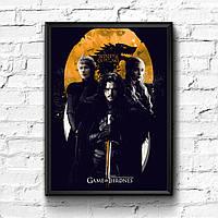 Постер с рамкой Game of Thrones #10