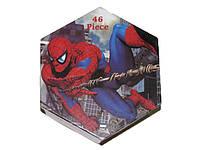 """Набор для детского творчества """"Spider-man"""" (46 предметов) шестигранный SP-46"""