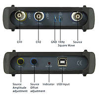 ISDS2062B USB-осцилограф 2 х 20МГц, з генератором сигналів, фото 2