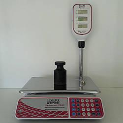 Электронные торговые весы с поверкой Camry ВТД 6, 15, 30кг (355*235мм)