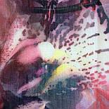 10508-1, павлопосадский платок шерстяной (разреженная шерсть) с швом зиг-заг, фото 8