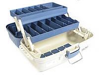 Ящик рыбацкий для хранения снастей и катушек на 2 полки BLC-1201
