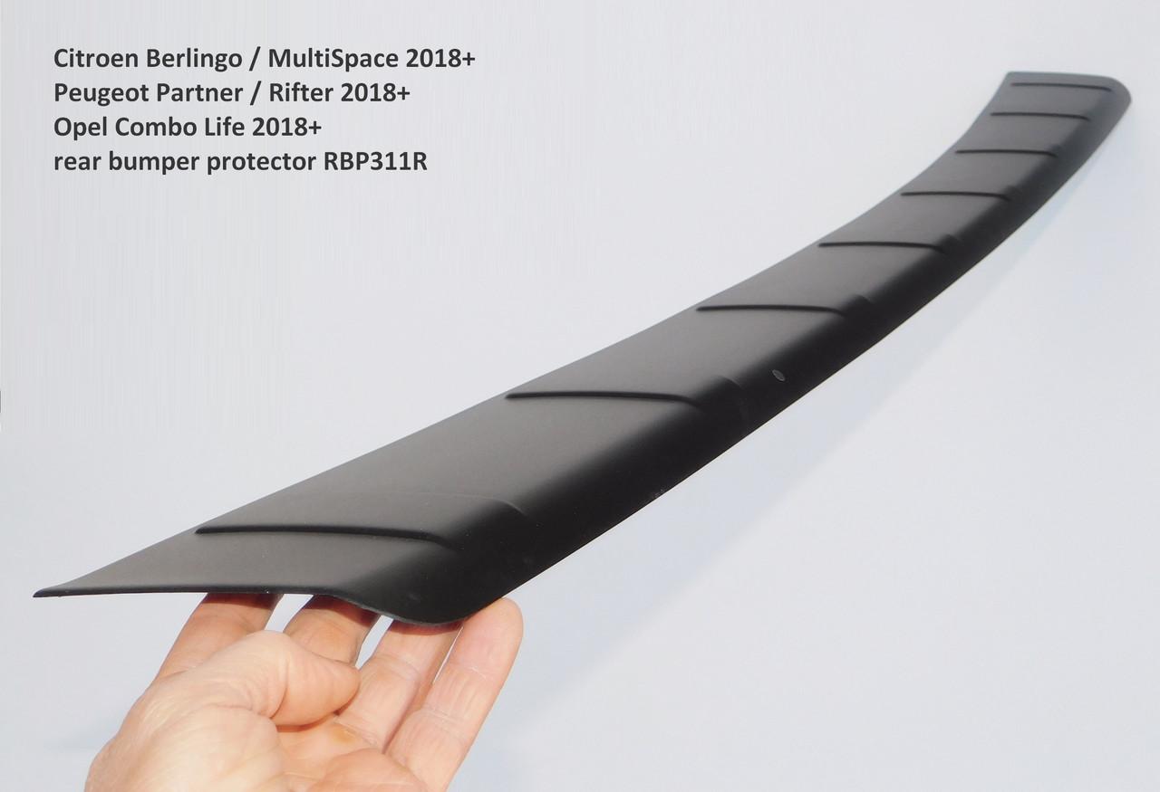 RBP311r Citroen Berlingo 2018+ rear bumper protector