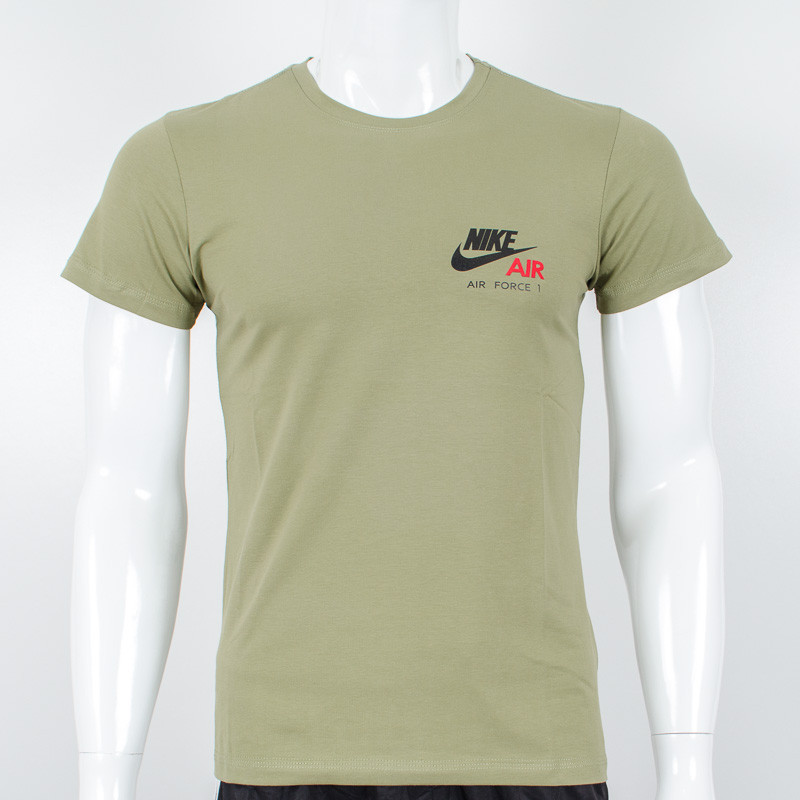 Футболка с логотипом, Nike (Хаки)