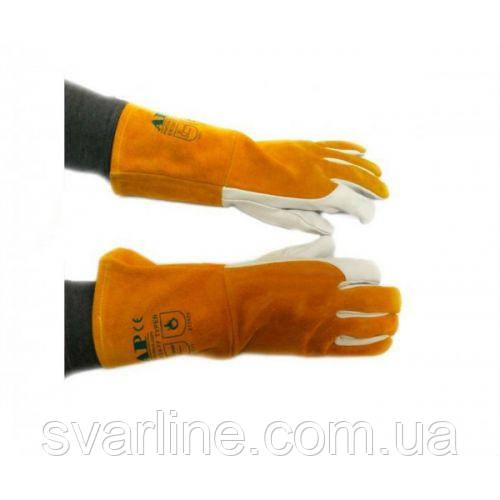 Перчатки сварщика AP-1199, XL