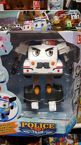 """Трансформер """"Робо Police car"""" JT3100 Поліцейська машина, фото 2"""