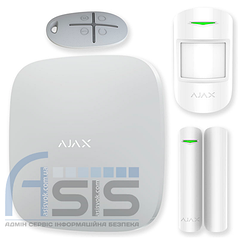 Комплект сигнализации Ajax StarterKit Plus (HubKit Plus) white