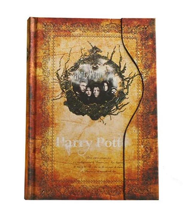 Ежедневник Гарри Поттер Harry Potter зототистый
