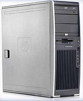 Системный блок HP xw4600 Workstation-C2D-E7500-2,93GHz-4Gb-DDR2-250Gb-HHD-DVD-R+NVIDIA GeForce G100(