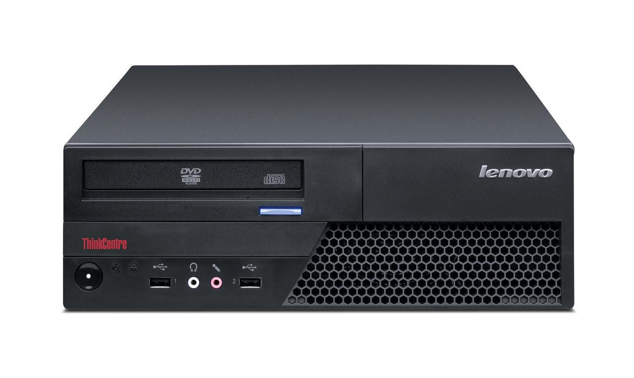 Системный блок Lenovo ThinkCentre M58p SFF-Intel C2D-E8400-3,0GHz-2Gb-DDR3-HDD-250Gb-DVD-R- Б/У