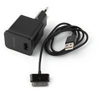 Зарядное устройство для планшета Samsung ETA-P10X ( комплект СЗУ+кабель)