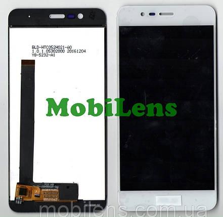 Asus ZC520TL, ZenFone 3 Max, Pegasus 3 X008D Дисплей+тачскрин(модуль) белый, фото 2