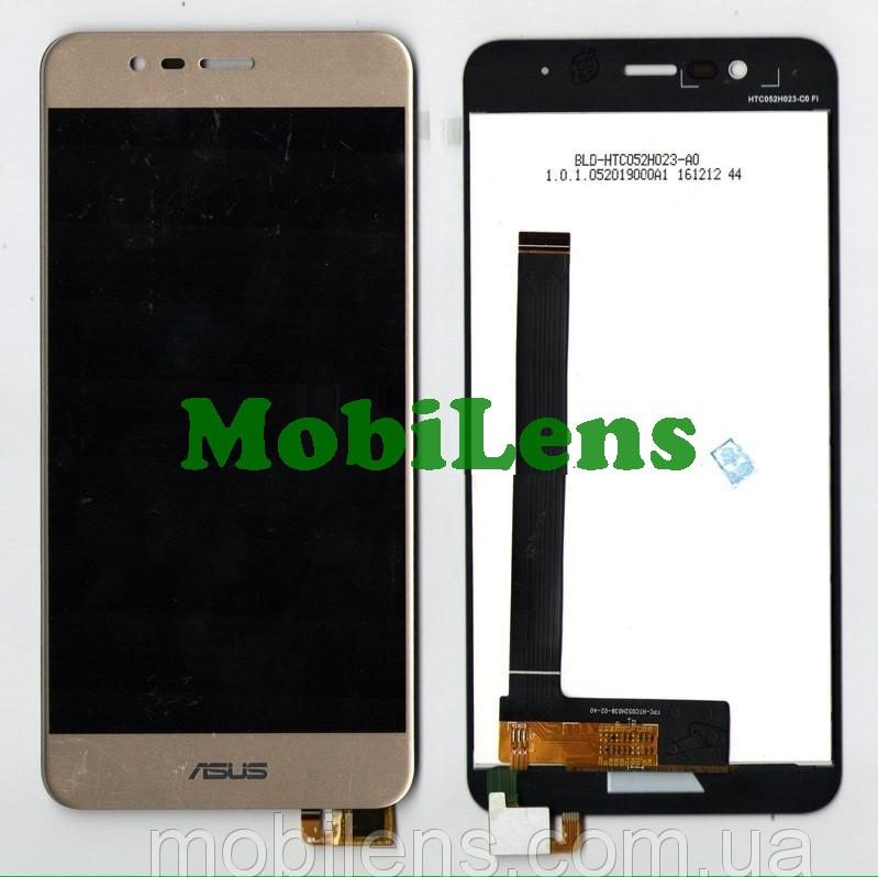 Asus ZC520TL, ZenFone 3 Max, Pegasus 3 X008D Дисплей+тачскрин(модуль) золотистый