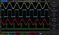 DSO4254B осцилограф 4 х 250 МГц, фото 3