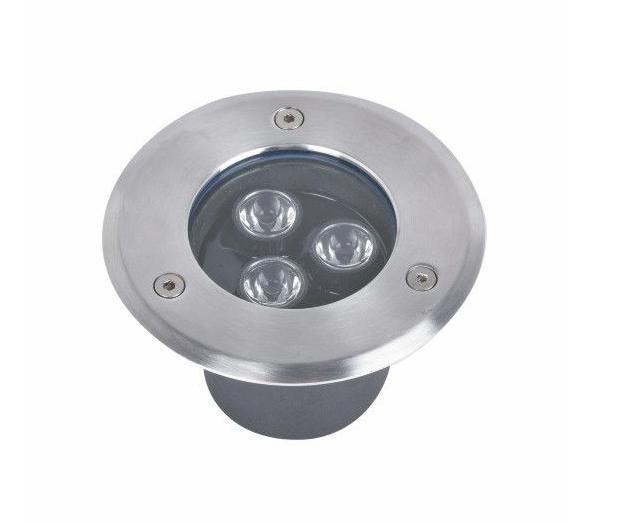 Подводный встраиваемый светодиодный светильник 3*1W синий ip68 Ecolend