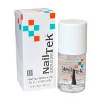 NAIL TEK III Protection Plus - Для сухих и ломких ногтей 15 мл