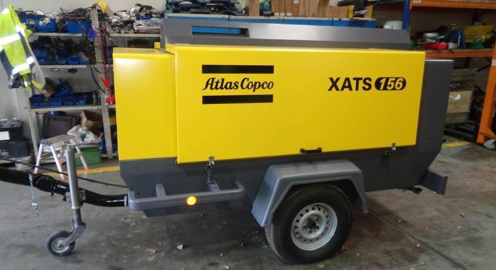Б/У Компрессор Atlas Copco XATS 156