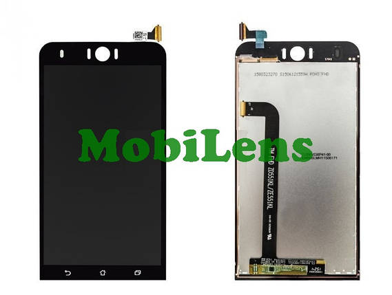 Asus ZD551KL, ZenFone Selfie, Z00UD, Z00UDB Дисплей+тачскрин(модуль) черный, фото 2