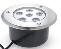Подводный встраиваемый светодиодный светильник 6*1W зеленый ip68 Ecolend