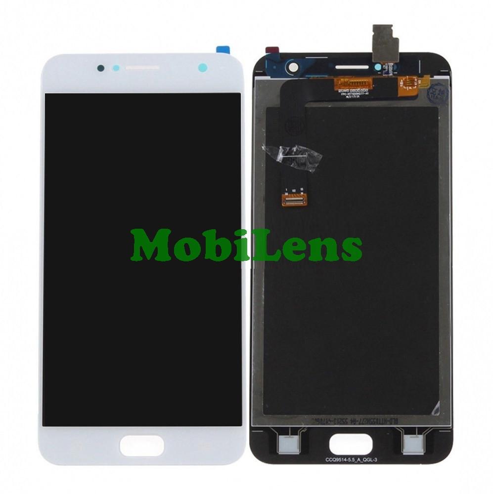 Asus ZD553KL, ZenFone 4 Selfie Дисплей+тачскрин(модуль) белый