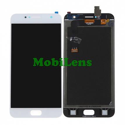 Asus ZD553KL, ZenFone 4 Selfie Дисплей+тачскрин(модуль) белый, фото 2