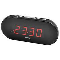 Часы электронные сетевые VST 715-1 Красное свечение