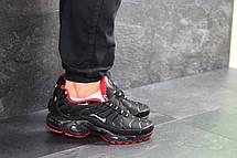 Кроссовки мужские Nike air max TN,черные с красным 44р, фото 2