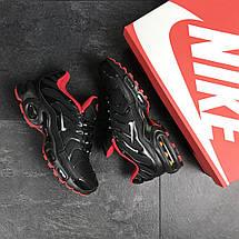Кроссовки мужские Nike air max TN,черные с красным 44р, фото 3