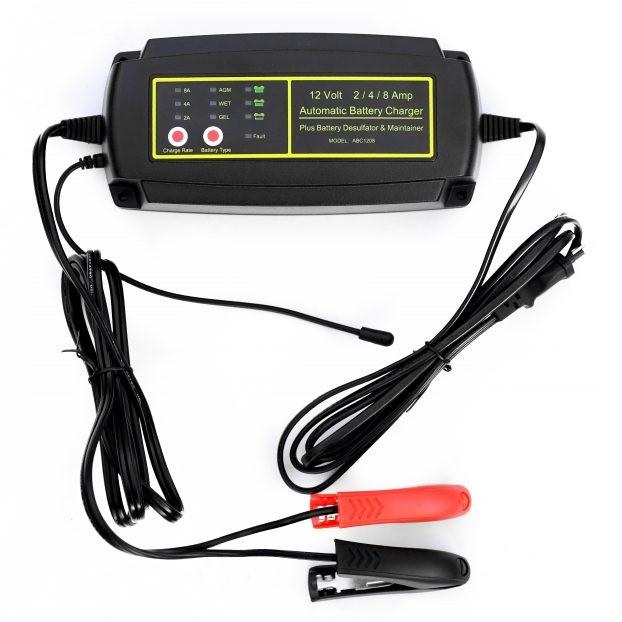 Зарядка Smart 1208  12V 8A импульсная 7 ступеней