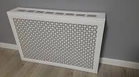Короб на радиатор 900мм*600мм Омега Белый (включает экран)