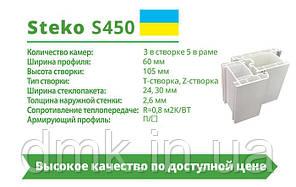 Металлопластиковая дверь Steko S500